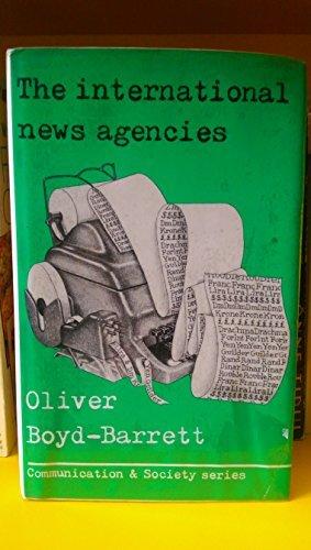 9780094634008: THE INTERNATIONAL NEWS AGENCIES.