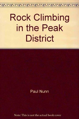 9780094645400: Rock Climbing in the Peak District
