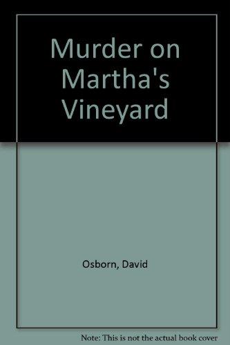 MURDER ON MARTHA'S VINEYARD: Osborn, David