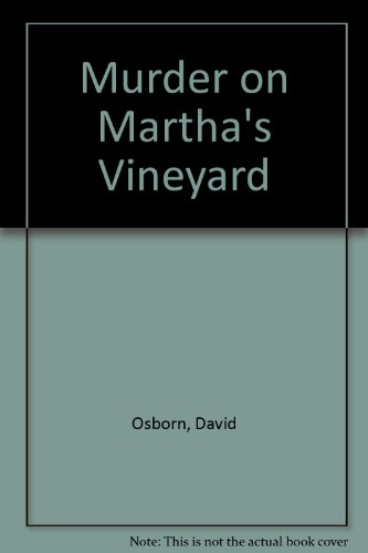 9780094681507: Murder on Martha's Vineyard