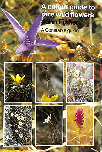 9780094691902: A Colour Guide to Rare Wild Flowers (Celtic Interest)