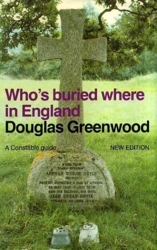 9780094702806: Who's Buried Where in England (New Ed) (Guides S.)