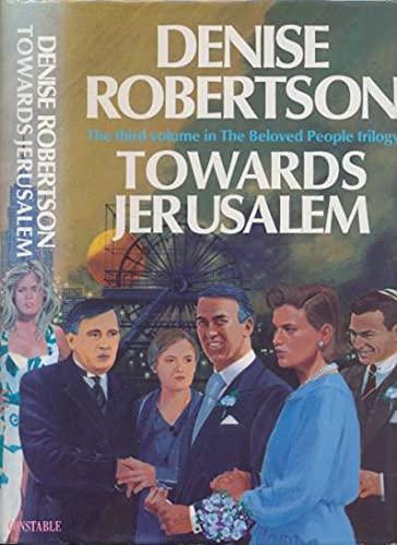 9780094712102: Towards Jerusalem (The Travellers' Comp)