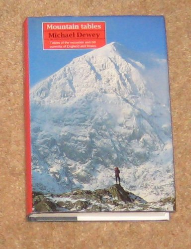 9780094745209: Mountain Tables: Tables of the 2000ft Mountains of England and Wales (Guides)