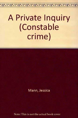 A Private Inquiry: Mann, Jessica