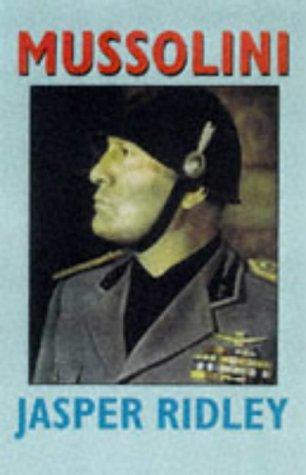 9780094763708: Mussolini.