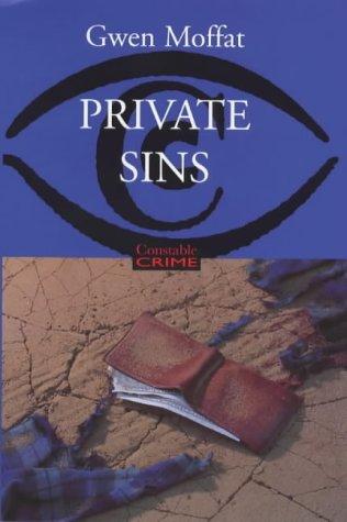 9780094801509: Private Sins (Constable Crime)