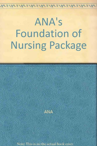 9780095234795: ANA's Foundation of Nursing Package