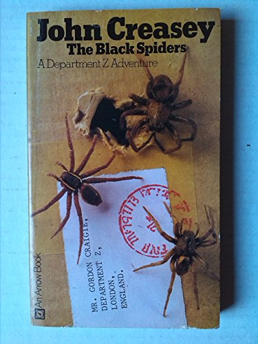 9780099065005: The black spiders (A Department Z adventure)