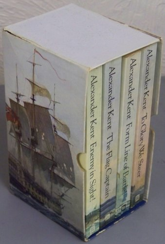 9780099093800: Alexander Kent Boxed Set - Four Richard Bolitho Stories