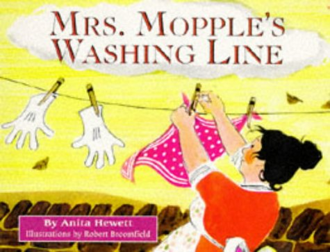 9780099144113: Mrs. Mopple's Washing Line (Red Fox Picture Books)
