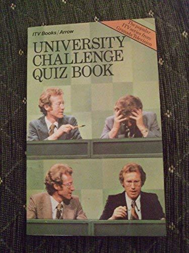 9780099155201: University Challenge Quiz Book