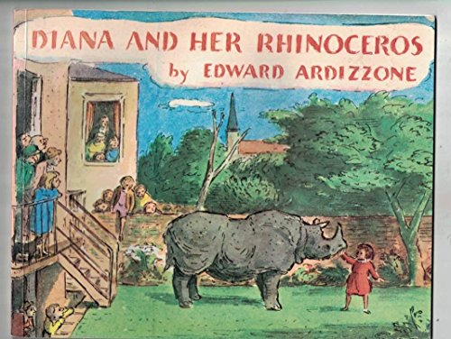 9780099182818: Diana and Her Rhinoceros (Red Fox picture books)