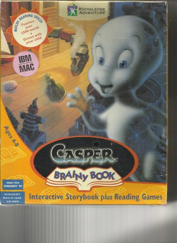 9780099206323: Casper Brainy Book: Windows/Macintosh: Interactive Storybook plus Reading Games