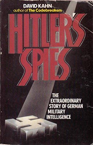 9780099217206: Hitler's Spies: German Military Intelligence in World War II
