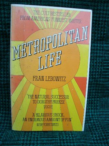 9780099217503: Metropolitan Life