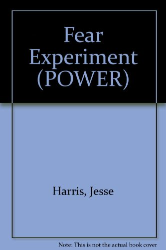 9780099221111: Fear Experiment (POWER)