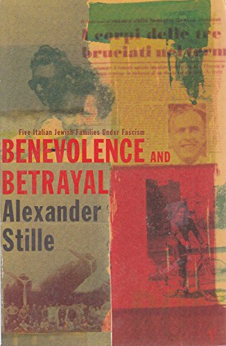 9780099223412: Benevolence and Betrayal Five Italian Jewi