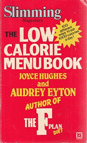 9780099226406: Low Calorie Menu Book ('Slimming magazine' handbooks)