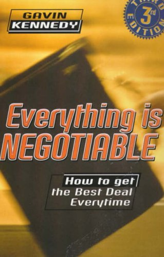 9780099243823: Everything is Negotiable