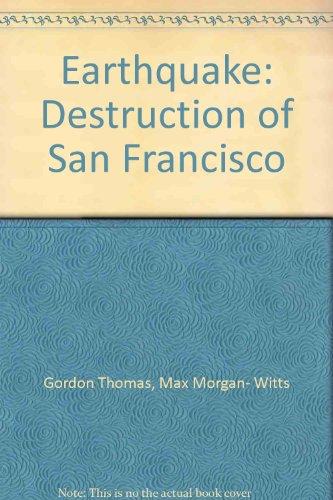 9780099244509: Earthquake: Destruction of San Francisco