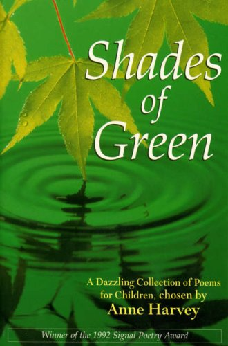 9780099255215: Shades of Green (Red Fox poetry)