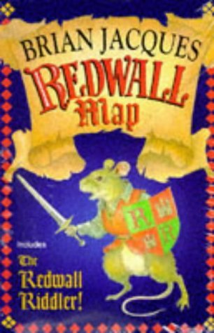 Redwall Map and Redwall Riddler (Red Fox): Brian Jacques