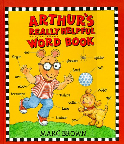 9780099263920: Arthur's Really Helpful Word Book (Red Fox picture books)