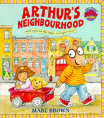 9780099264095: Arthur's Neighbourhood (Giant ): Giant Board Book