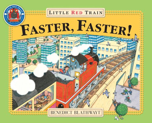 9780099264996: Faster, Faster, Little Red Train