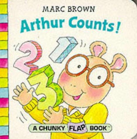 9780099265757: Arthur Counts! (Red Fox Chunky Flap Book)