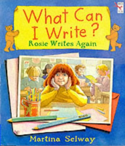 9780099267126: What Can I Write?: Big Book: Rosie Writes Again (Red Fox giant picture book)