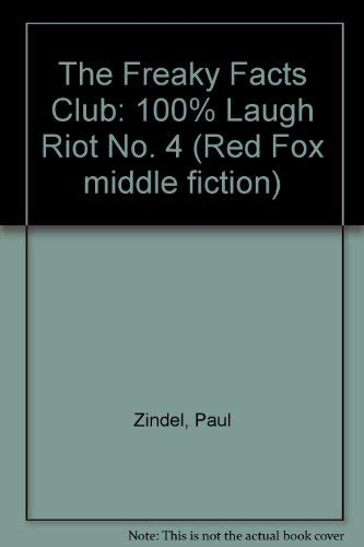 9780099270218: The Freaky Facts Club: 100% Laugh Riot No. 4 (Red Fox Middle Fiction)