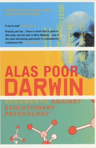 9780099283195: Alas Poor Darwin: Arguments Against Evolutionary Psychology