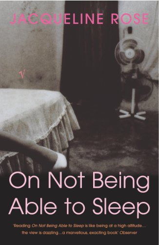 9780099286042: On Not Being Able To Sleep: Psychoanalysis and the Modern World