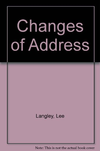 9780099287650: Changes of Address