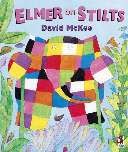9780099296713: Elmer On Stilts (Red Fox Picture Books)