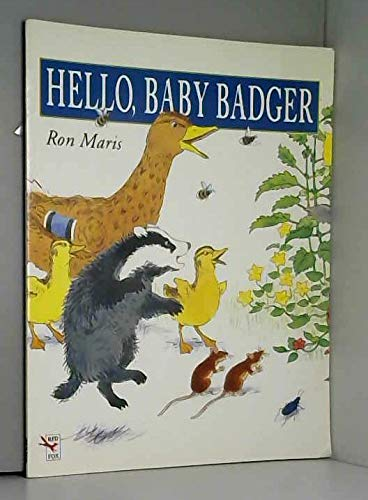 9780099299912: Hello, Baby Badger (Red Fox Picture Books)