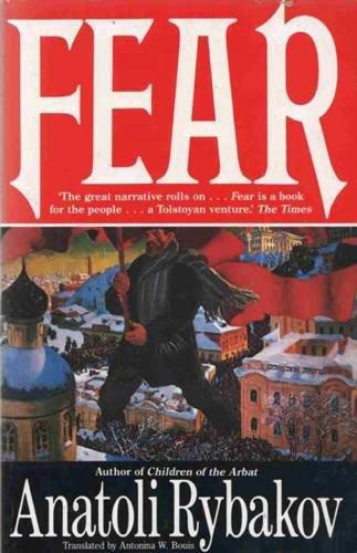 9780099301820: Fear