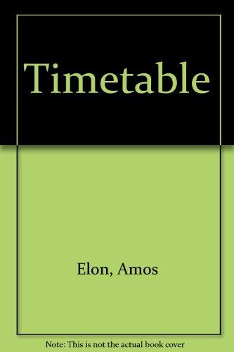9780099304203: Timetable