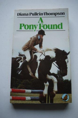 9780099306702: Pony Found