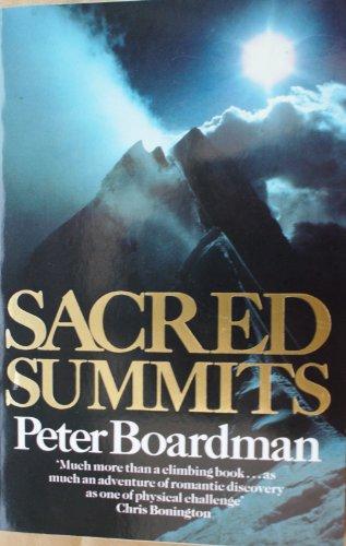 9780099310402: Sacred Summits (Arena Books)