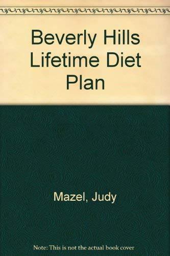9780099330608: Beverly Hills Lifetime Diet Plan