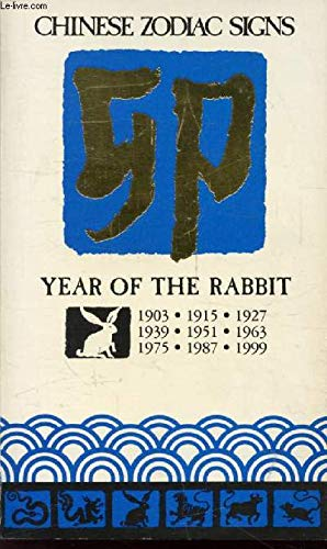 9780099334507: Chinese Zodiac Signs: Year of the Rabbit