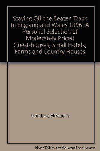 STAYING OFF THE BEATEN TRAC: Gundrey, Elizabeth
