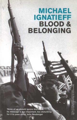 9780099389514: Blood and Belonging Paperback Pub: Vintage Books