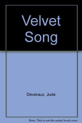 9780099395805: Velvet Song