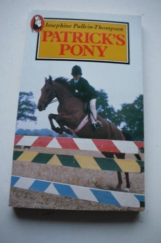 9780099397700: Patrick's Pony