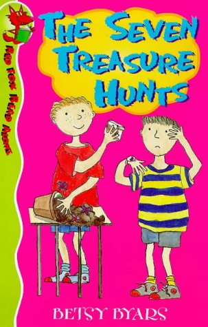 9780099401124: The Seven Treasure Hunts (Red Fox Read Alone)