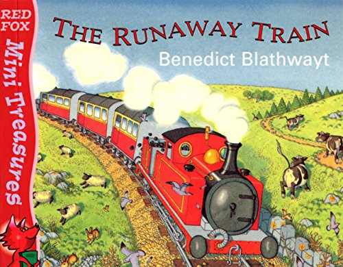 9780099403029: The Little Red Train: The Runaway Train